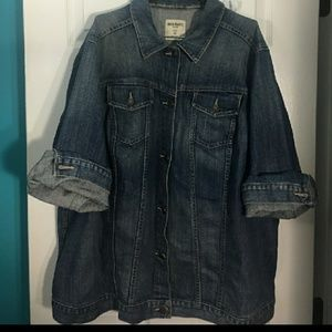 OLD NAVY DENIM JACKET..SIZE 3X